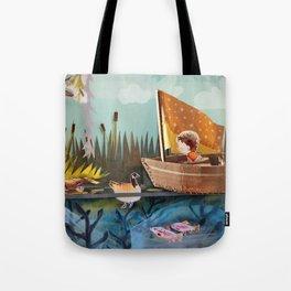 Pond Adventure Tote Bag