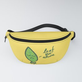The introvert leaf Fanny Pack