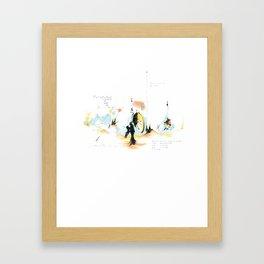 holi.daze Framed Art Print