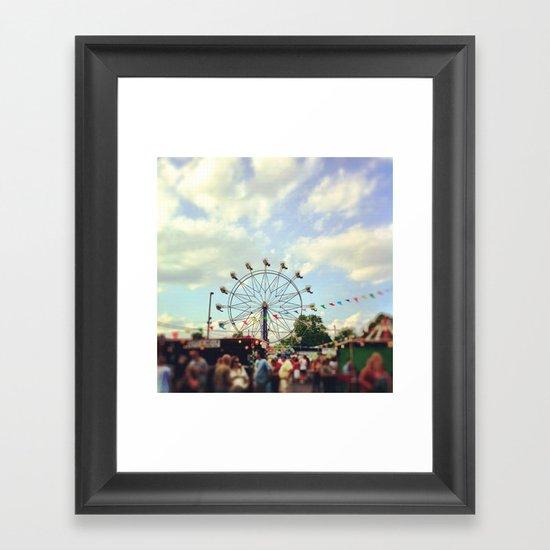 the fair Framed Art Print
