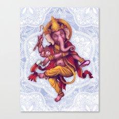 Ganesha (Color Variation 1) Canvas Print