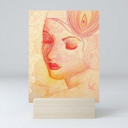 Paloma Roja Mini Art Print