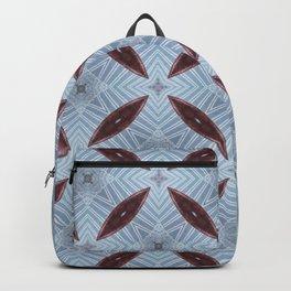 American Folk Red & Blue No. 07 Backpack