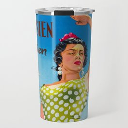 Andalusia - Vintage Travel Poster Travel Mug