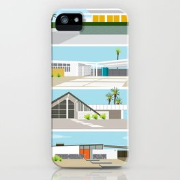 mid-centery house one, three, four iPhone Case