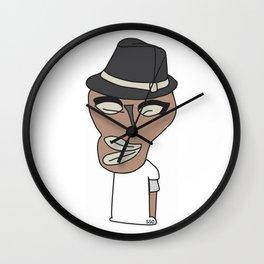 Bed Face Wall Clock