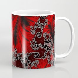 Eruption - Fractal Art Coffee Mug