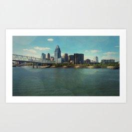 Not A Cincy Skyline Art Print