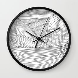 Linescape Wall Clock
