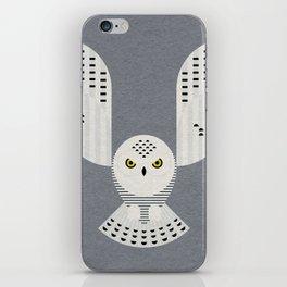 Snowy Owl in Flight iPhone Skin