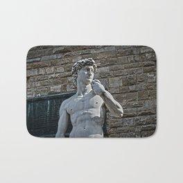 The Statue of David Bath Mat