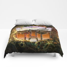 Steampunk Autobot Transform Comforters