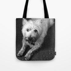 Odie (B/W) Tote Bag