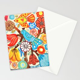 Pop Flowers Stationery Cards