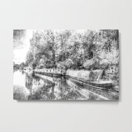 Little Venice London Vintage Metal Print