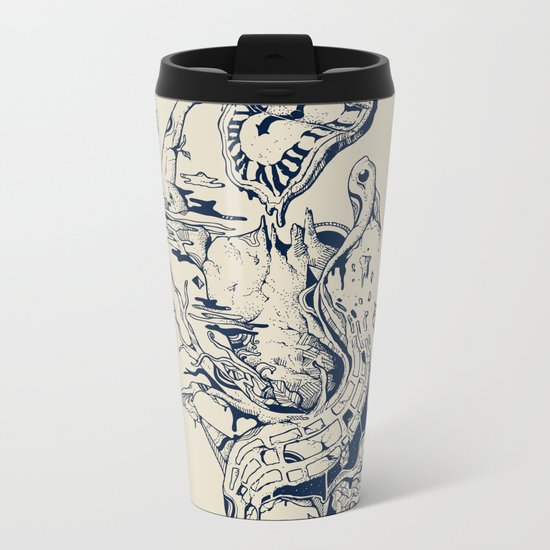 I Melt with You Metal Travel Mug