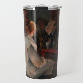Alvar Cawen - Members of The November Group - 1921, man, seating, art Travel Mug