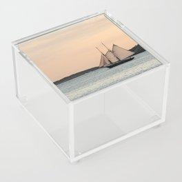 Sunset Sail Acrylic Box