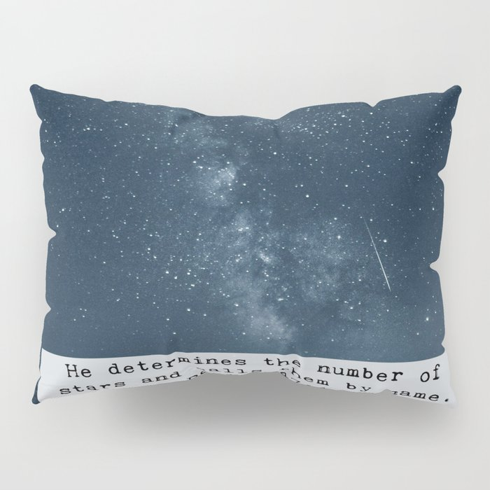 Counts the Stars Pillow Sham