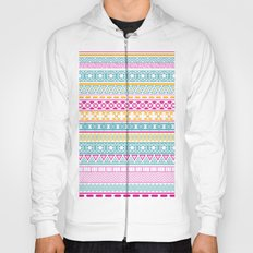Cute Ethnic Pattern Hoody