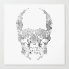 Skull BW Canvas Print