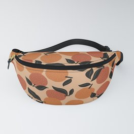 Seamless Citrus Pattern / Oranges Fanny Pack