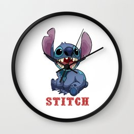 Stitch Wall Clock