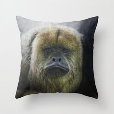 Emotionally Expressed Throw Pillow