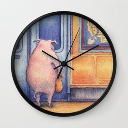 The Commuters Wall Clock
