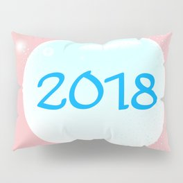 2018 Christmas And New Year Pillow Sham