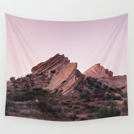 Desert Landscape at Magic Hour Wall Tapestry