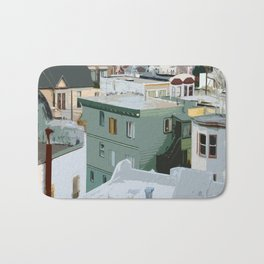 San Francisco Houses Bath Mat