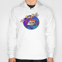 lab Hoodies featuring Dexter's Lab! by InvaderDig