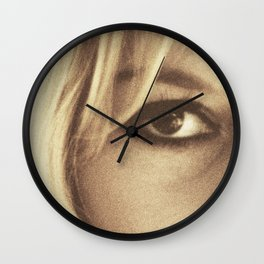 Brigitte Bardot, Contempt, movie poster, Le Mépris, Jean-Luc Godard, Fritz Lang, Wall Clock