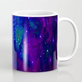 TREES MOON AND SHOOTING STARS Coffee Mug