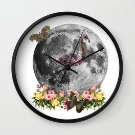 Holy Flamingo Wall Clock