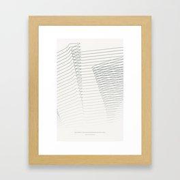 moments of faith Framed Art Print