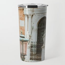 Lamppost by the Arsenale Travel Mug