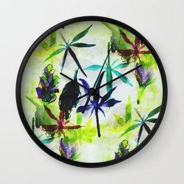 Grandaddy Purple Wall Clock