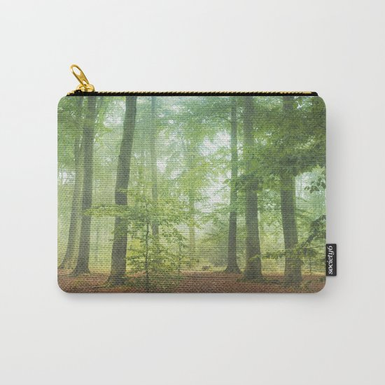 Hazy Summer Forest Carry-All Pouch