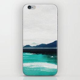 Blue coast iPhone Skin