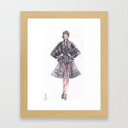 Runway! Framed Art Print