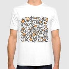 Daydreaming  White Mens Fitted Tee MEDIUM