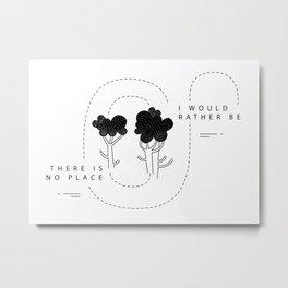 Broccoli Love Metal Print