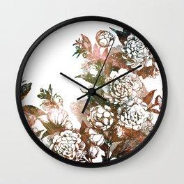 Plum Blossom Nebula Wall Clock