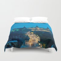 ukraine Duvet Covers featuring Kamianets-Podilskyi Castle (Ukraine) by Limitless Design