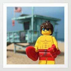 Lifeguard Art Print