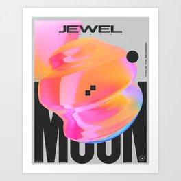 Jewel Art Print