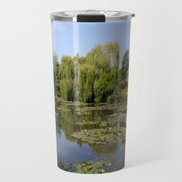 Monets Waterlily Pond Travel Mug