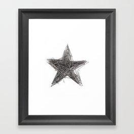 WRONG STAR Framed Art Print